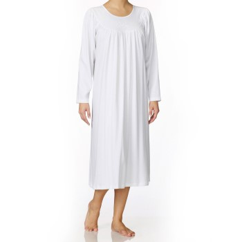 Image of   Calida Soft Cotton Nightshirt 33000 White * Gratis Fragt *
