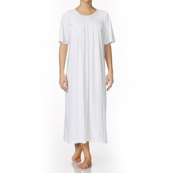 Image of   Calida Soft Cotton Nightshirt 34000 White * Gratis Fragt *