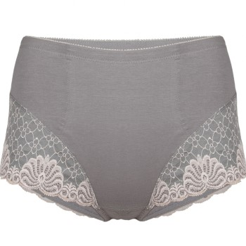 Image of   Swegmark Faithful Fairtrade Girdle Grey * Gratis Fragt *