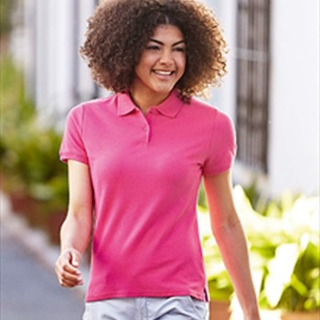 Image of Fruit of the Loom Lady-Fit Premium Polo