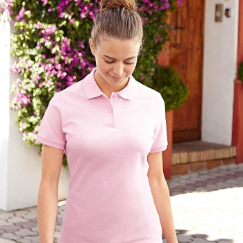 Image of Fruit of the Loom Lady-Fit Polo