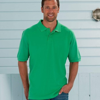 Image of Russell M Classic Cotton Polo