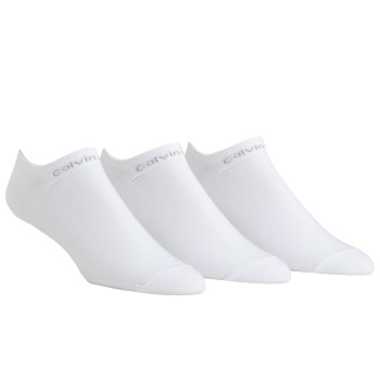 Image of   Calvin Klein Coolmax Low Sock White 3-pak * Gratis Fragt *
