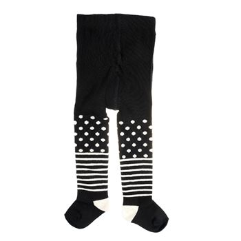 Image of   Happy socks Kids Tights Stripe Dots Black * Gratis Fragt * * Kampagne *