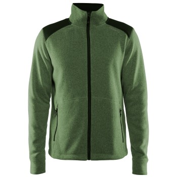 Craft Noble Zip Jacket Heavy Knit Fleece Men