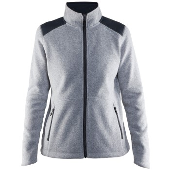 Craft Noble Zip Jacket Heavy Knit Fleece Women