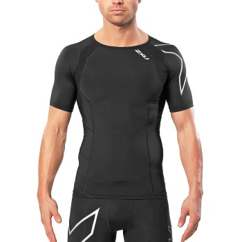 Image of   2XU Compression Short-Sleeve Top Men * Gratis Fragt *