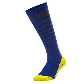Image of   2XU Striped Run Compression Socks Men * Gratis Fragt *