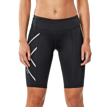 Image of   2XU Hyoptik Mid-Rise Compression Short * Gratis Fragt *