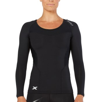 Image of   2XU Compression Long-Sleeve Shirt Women * Gratis Fragt *