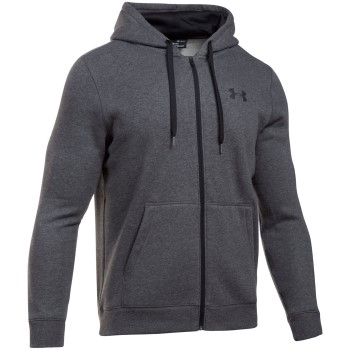 Under Armour Rival Fleece Fitted Ful Zip Hoodie * Maksuton Kuljetus *