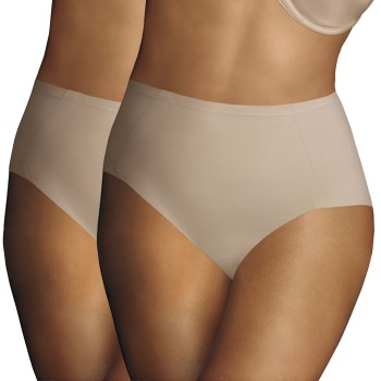 Image of   Maidenform 2-pak Sleek Smoothers Tummy Control Brief * Gratis Fragt *