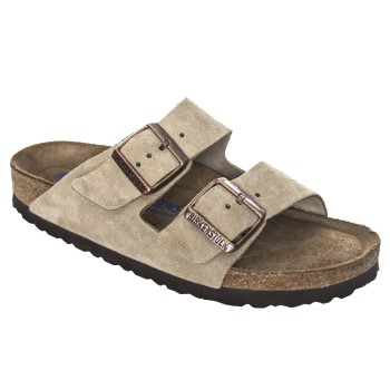 Birkenstock Arizona Suede Leather Soft Footbed * Maksuton Kuljetus *
