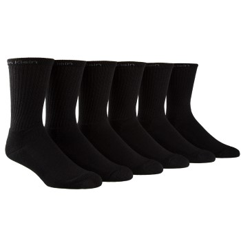 Image of   Calvin Klein Antonio Cotton Crew Socks 6-pak * Gratis Fragt *