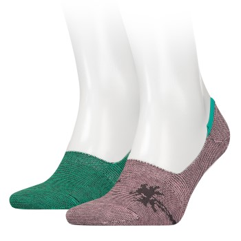 Levis 168SF Low Rise Micro Stripe Palm Tree Socks