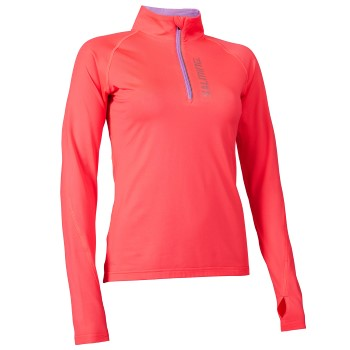 Salming Halfzip Long Sleeve Tee Women