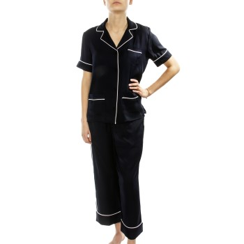 Image of   DKNY Walk The Line SS Top And Crop Pant * Gratis Fragt *
