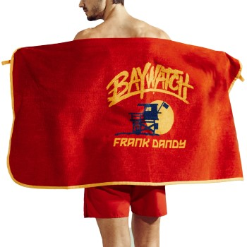 Frank Dandy Baywatch Beach Towel