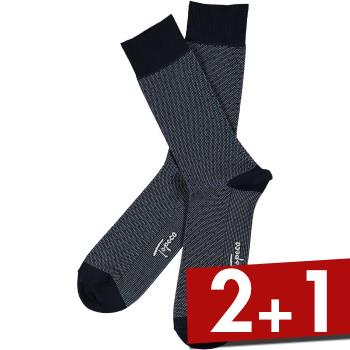 Image of Topeco Mens Sock Mercerized Cotton Dots