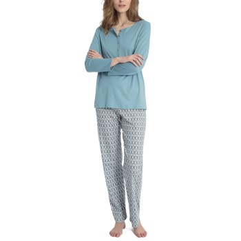 Image of   Calida Eleonor Pyjama With Button * Gratis Fragt *