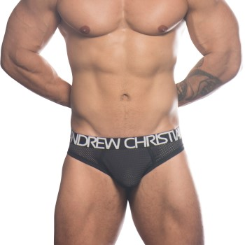 Andrew Christian Air Mesh Jock W Almost Naked * Ilmainen Toimitus *