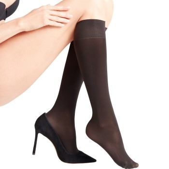 Falke Women Seidenglatt 40 Den Knee-High Socks
