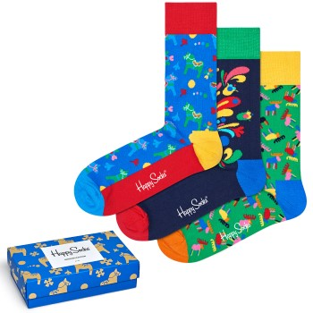 Happy socks 3 stuks Swedish Edition Gift Box