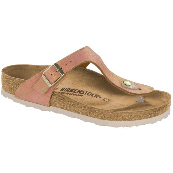 Birkenstock Gizeh Leather Washed Metallic * Actie *