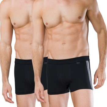 Schiesser 2 stuks Essentials Cotton Boxer Briefs