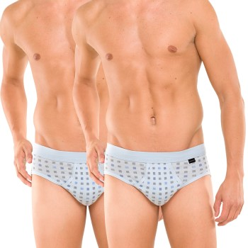 Schiesser 2 stuks Essentials Sport Briefs With Fly 3XL