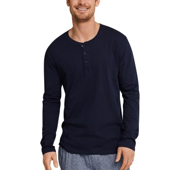 Schiesser Mix and Relax Long Sleeve Shirt Button