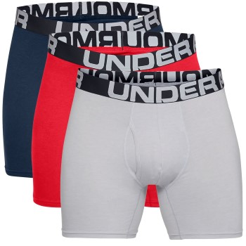 Under Armour 3 stuks Charged Cotton 6in Boxer