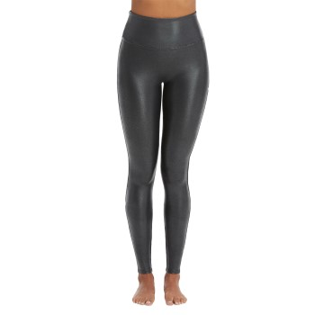 Spanx Faux Leather Pebbled Leggings * Gratis verzending * * Actie *