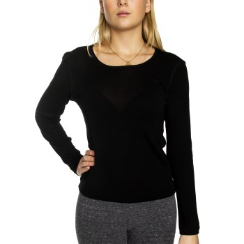 Damella Wool Long Sleeve Top