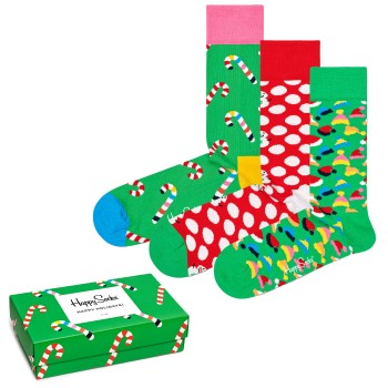 Happy socks 3 stuks Holiday Gift Box