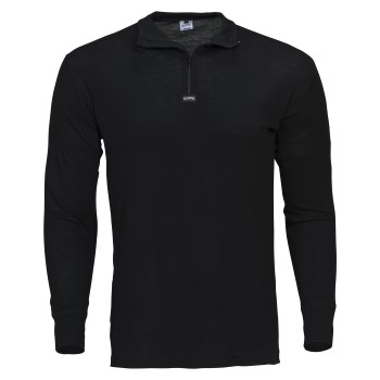 Dovre Wool Long Sleeve With Zipper