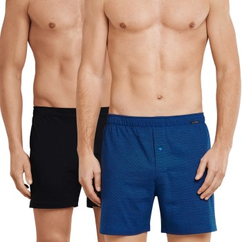Schiesser 2 stuks Essentials Cotton Boxer Shorts