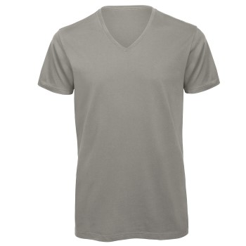 B and C Organic Inspire Men T-shirt V-Neck