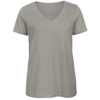 B and C Organic Inspire Women T-shirt V-Neck