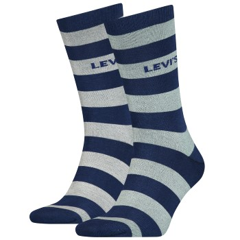 Levis 2 stuks Rugby Stripe Regular Socks