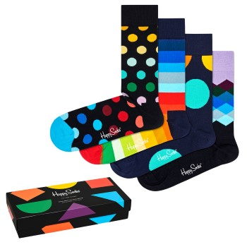 Happy socks 4 stuks Classic Multi Color Socks Gift Box