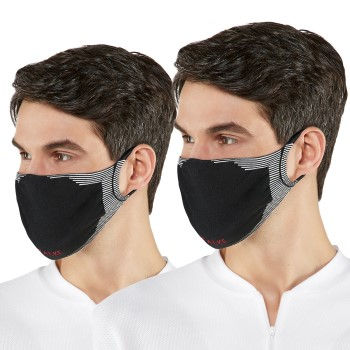 Falke 2 stuks Sporty Community Face Mask