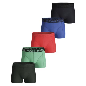 Bj�rn Borg 5 stuks Cotton Strech Shorts For Boys 2115