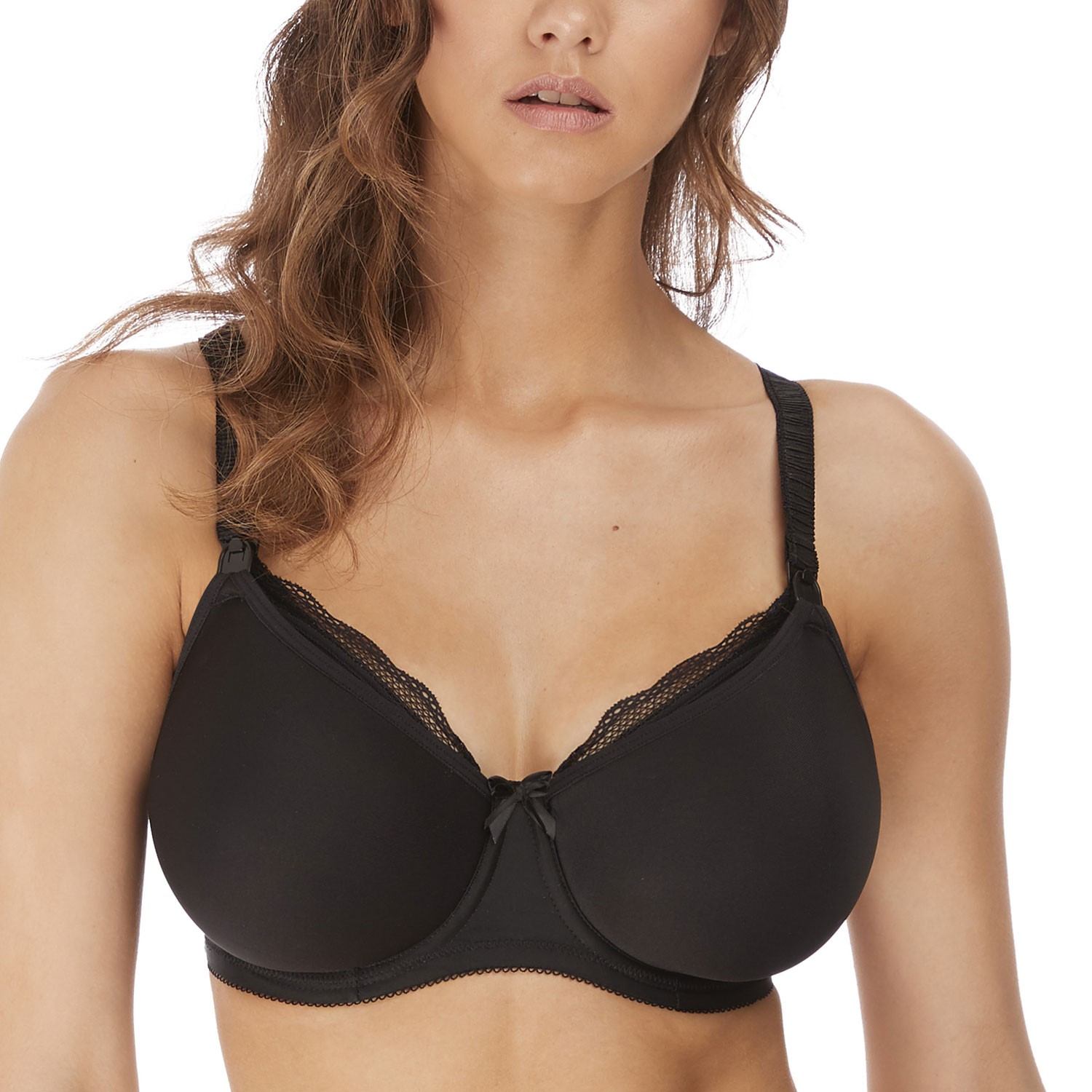 Freya Pure Underwired Moulded Nursing Bra SIZE UK 32E Ombre Brown 1581 BRAND NEW