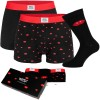 3-Pack WESC Fang Boxer Briefs and Sock Box