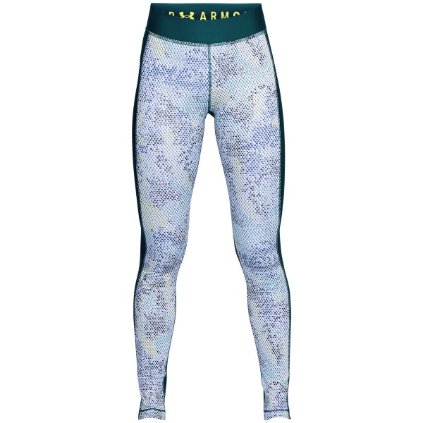 Under Armour HeatGear Armour Printed Leggings - Green Pattern * Kampagne *