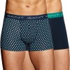 2-Pakkaus Gant Cotton Stretch Shadow Dot Trunks