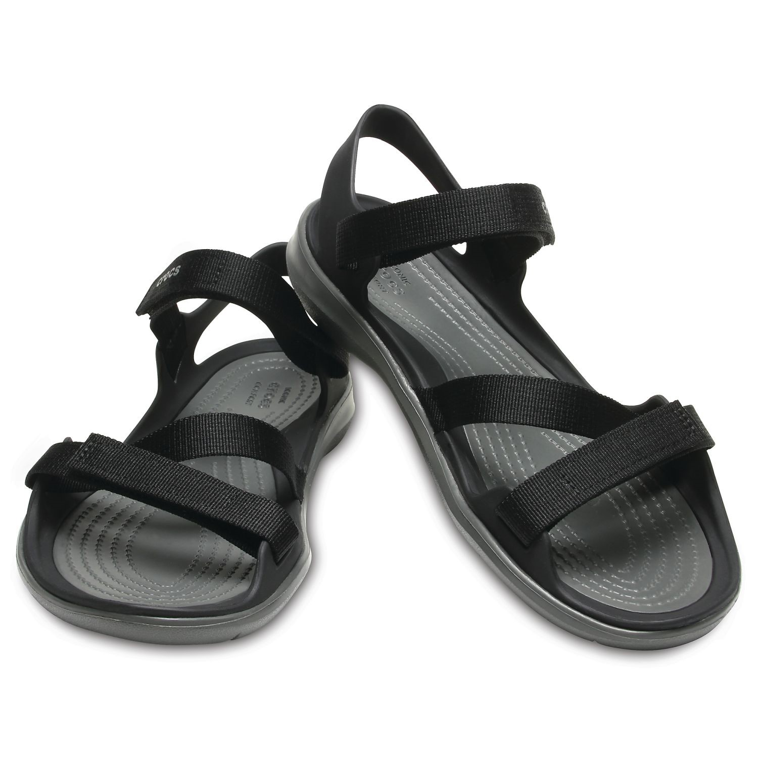 53e00049a646 Crocs Swiftwater Webbing Sandal W - Sandals - Everyday shoes - Shoes -  Timarco.eu