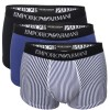 3-Pakkaus Emporio Armani Pure Cotton Trunk