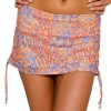 Saltabad Fern Flower Bikini Skirted Brief With Str